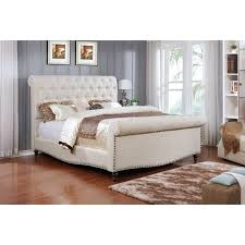 Upholstered Sleigh Bed King Best 25 Sleigh Beds Ideas On Pinterest Dark Wood Bed Dark Wood