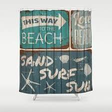 Beachy Shower Curtains Theme Shower Curtain Interior Design