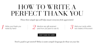 thank you notes things to avoid when writing thank you notes the