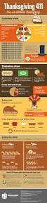 weird facts about thanksgiving stats infographic