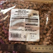 hikari massivore sinking pellets hikari massivore delite 1kg pet supplies pet food on carousell