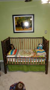 Convertible Crib Twin Bed by Furniture Rustic Nursery Furniture Cribs With Changing Table
