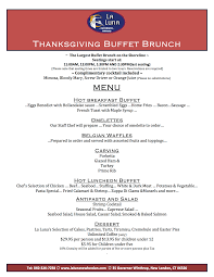 thanksgiving note la luna ristorante new london ct caterer and banquet facility