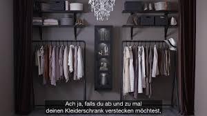 Kleiderschrank Viel Stauraum Ikea Offener Kleiderschrank Für Modefans Youtube