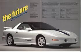 2014 Pontiac Trans Am Futures Passed Pontiac Trans Am Gta 25th Anniversary Broc