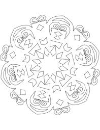 coloring pictures of christmas presents snowflake with christmas presents coloring page free printable