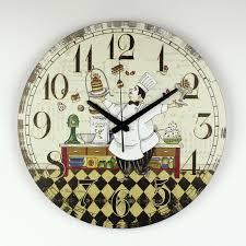horloge murale cuisine cuisine horloge murale design moderne garantie 3 ans de bande