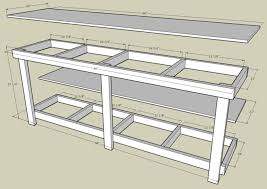 pdf woodwork garage workbench plans download diy plans the work