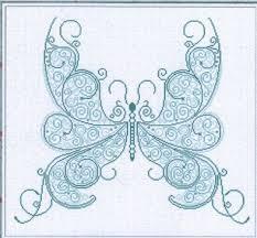 butterfly cross stitch pattern motyle