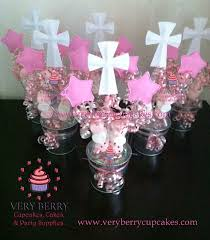 baptism table centerpieces veryberry cupcakes girl baptism foam centerpieces