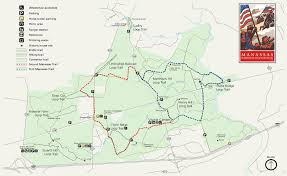 Stuart Florida Map by Manassas National Battlefield Park Hiking Trails