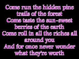 vanessa williams colors of the wind with lyrics youtube