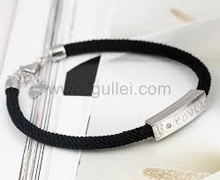 Personalized Name Bracelet Custom Name Engraved Silver Bracelets For Men And Women