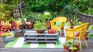 Flower Garden Chairs Adding Colour To Garden Furniture Somewhat Grey
