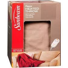 black friday heated blanket deals sunbeam fleece heated throw 50 inch x 60 inch assorted walgreens