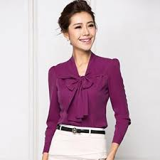 blouse with tie neck buy aision sleeve tie neck blouse with free international
