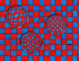 modulo art pattern grade 8 op art lines create illusions lessons tes teach