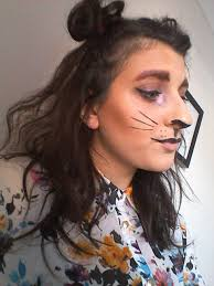 cat lion halloween makeup tutorial u2013 vintage mina
