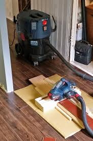 What Type Of Saw To Cut Laminate Flooring How To Cut Laminate Flooring Dust Free With A Circular Saw U2014 Dan