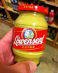 lowensenf mustard saucisson mac aint cuttin the mustard