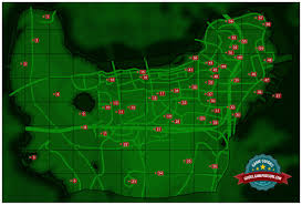 Fallout 3 Bobblehead Locations Map by Map Of Center Of Boston Sector 6 Fallout 4 Game Guide
