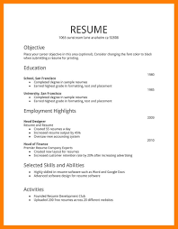 8 basic resume examples mla cover page