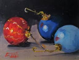 ornaments original painting by smith