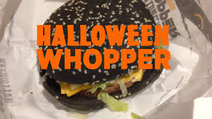 bk halloween whopper sometimes foodie ha1loween burger halloween a 1 burger burger bk