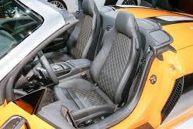 audi convertible interior audi r8 spyder 2017 price specs interior exterior photos and