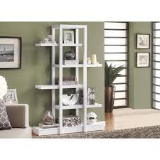 monarch specialties 5 shelf white display etagere i 2561 the