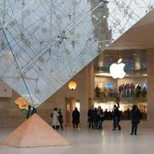 Apple Store Paris This An Apple Store Beneath The Louvre Art Pinterest