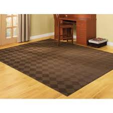 remnant rugs essential home remnant rug 7 5 x 9 5 chocolate