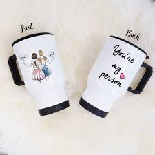 gifts for your bestie you re my person mug unique friendship