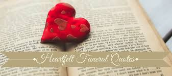Words Of Comfort For Funeral 100 Best Funeral Quotes Love Lives On