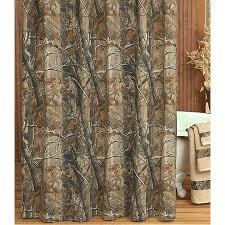 Realtree Shower Curtain Camo Bathroom Decor Realtree All Purpose Camo Shower Curtain Camo