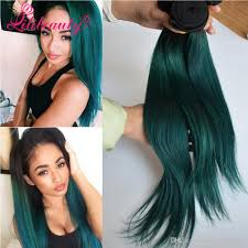 teal hair extensions 1b green ombre hair extensions 8a ombre human hair weave