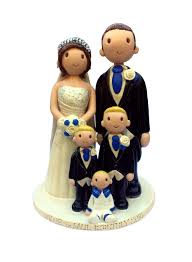 cake toppers for wedding cakes wedding cake toppers made personalised ceramic cake toppers