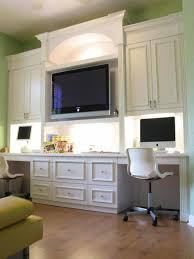 interesting home office design for two people good looking two