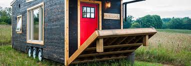 Tiny Homes On Wheels For Sale by Greenmoxie Tiny House Lets You Live Mortgage Free And Off Grid In
