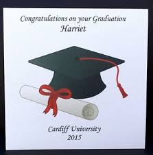 personalised congratulations on your graduation card friend