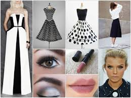 makeup tips when you u0027re wearing a black and white dress hum ideas