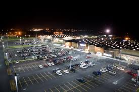 walmart adds led parking lot lights
