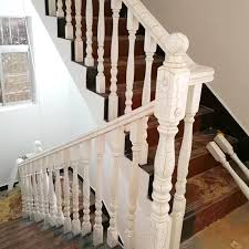 Solid Banister Wood Stair Pillar Wood Stair Pillar Suppliers And Manufacturers