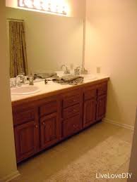 Bathroom Makeover Ideas On A Budget Livelovediy Easy Diy Ideas For Updating Your Bathroom