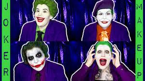 the evolution of joker makeup youtube