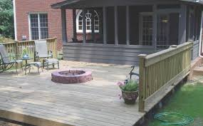 wood decorating backyard decks with fire pit great outdoor patio