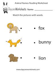 Beginner Reader Worksheets Preschool English Worksheets