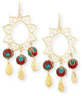 Deal Alert Turquoise Chandelier Earrings Coral Chandelier Earrings Shopstyle