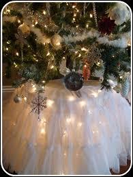 small white christmas tree with lights diy lighted christmas tree skirt by shacomi christmas pinterest