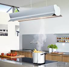 kitchen island extractor new bulthaup mobile with wing canopy and fluorescent light